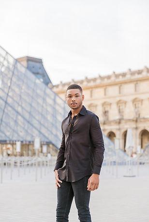 paris photo shoot portrait