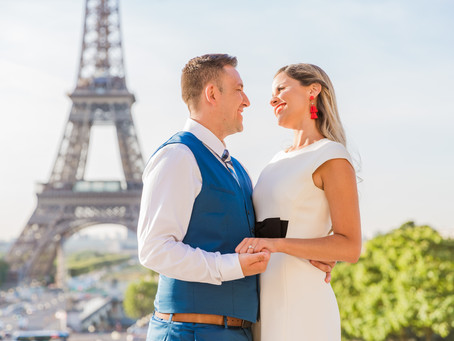A surprise proposal on a sunny day!