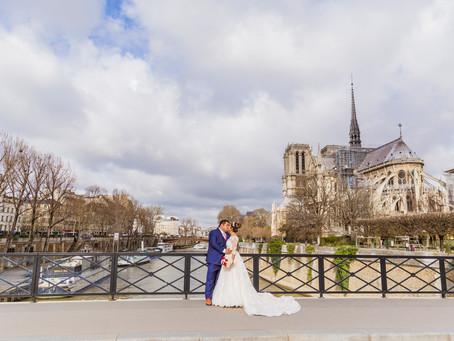 Bring your wedding dress!