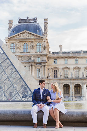 louvre museum photo shoot