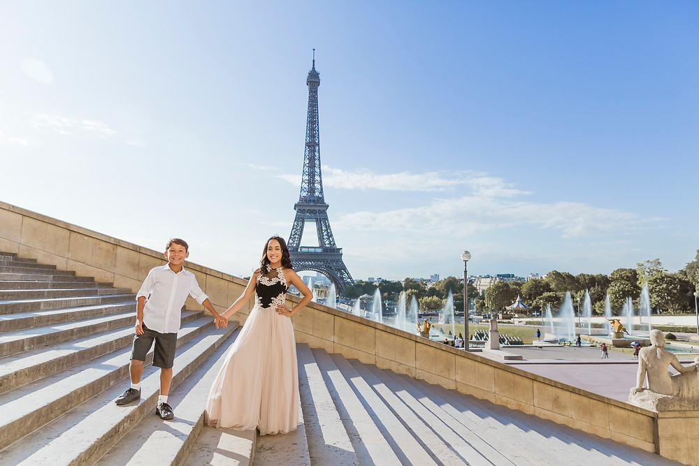 paris photographer family photo session