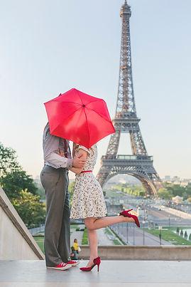 paris umbrella photo shoot