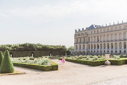château de versailles photo shoot