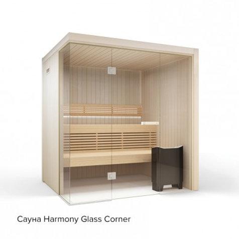 Сауна Tylo Harmony Glass Corner