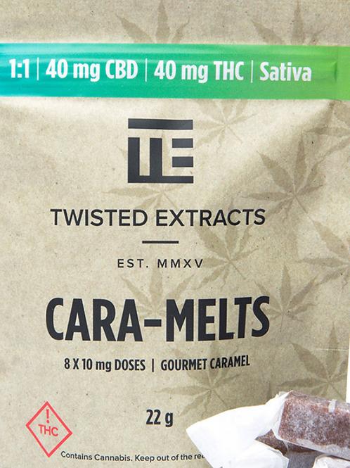 Cara-Melts – (40mg CBD:40mg THC) Sativa