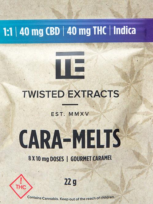 Cara-Melts – (40mg CBD:40mg THC) Indica