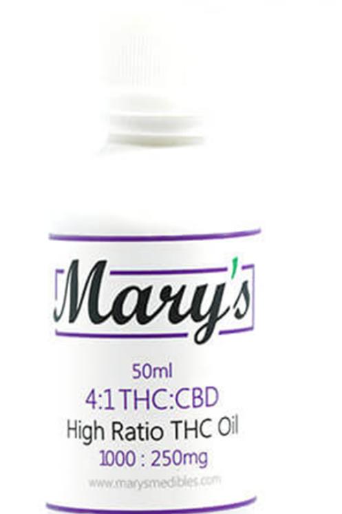 Mary's High Ratio THC Oil (4:1 / THC:CBD Ratio)