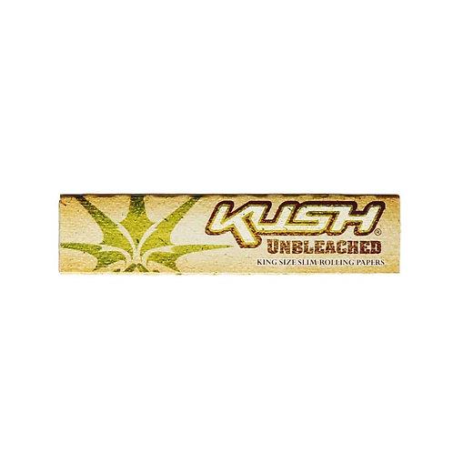 Kush Unbleached Hemp King Slim Rolling Papers
