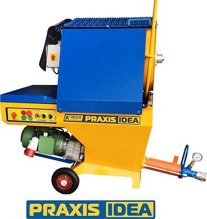 PRAXIS IDEA plastering machine
