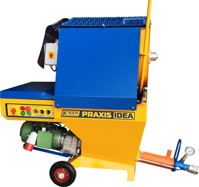 PRAXIS IDEA Máquina revocadora proyectadora