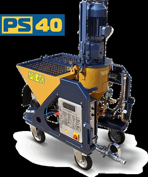 PS 40 spray plaster machine