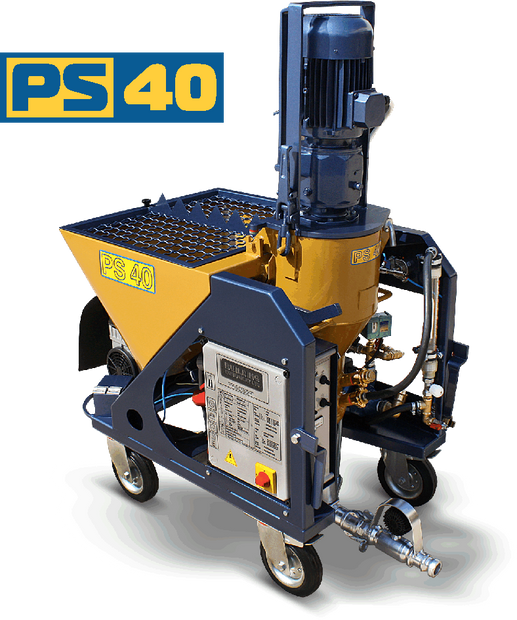 PS 40 spray plaster machine