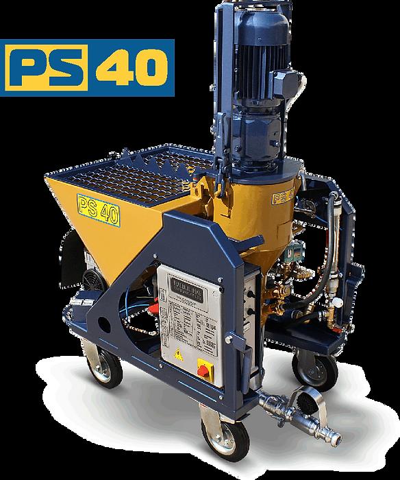 PS 40 maquina proyectadora de yeso