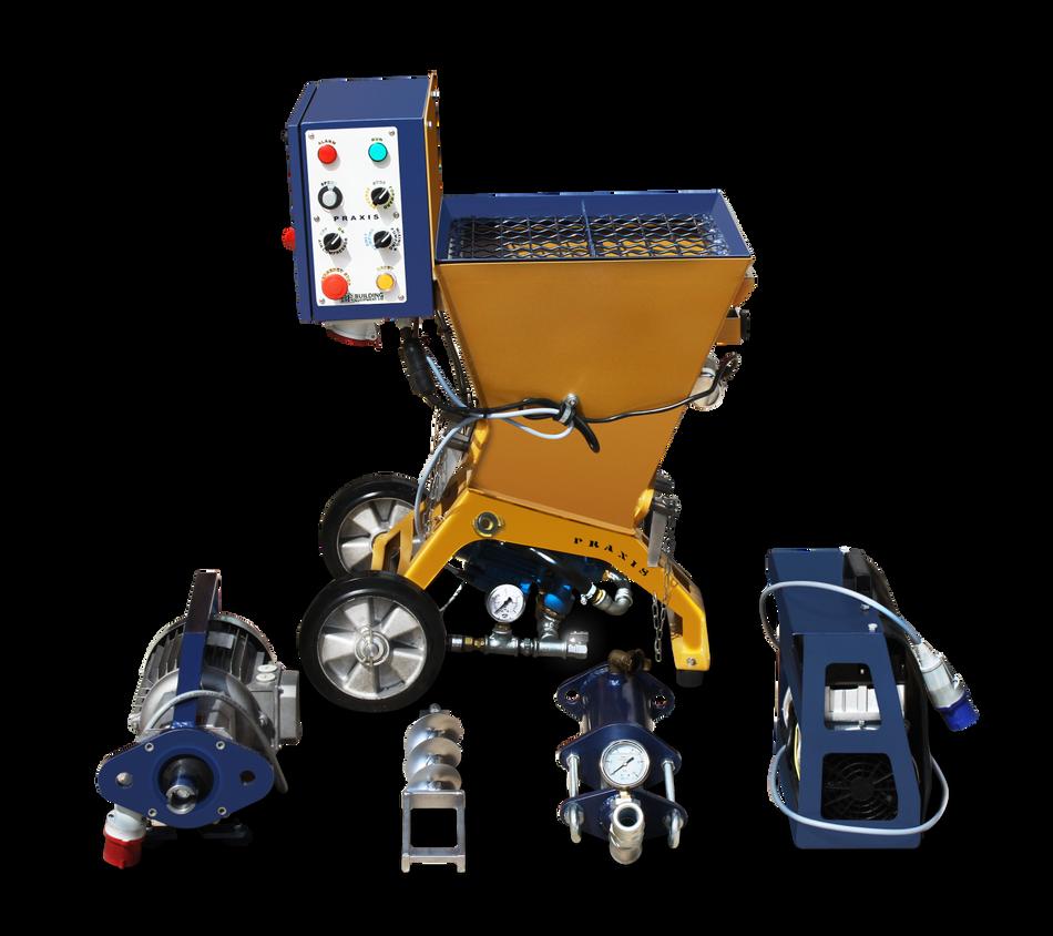 PRAXIS maquinas proyectadoras