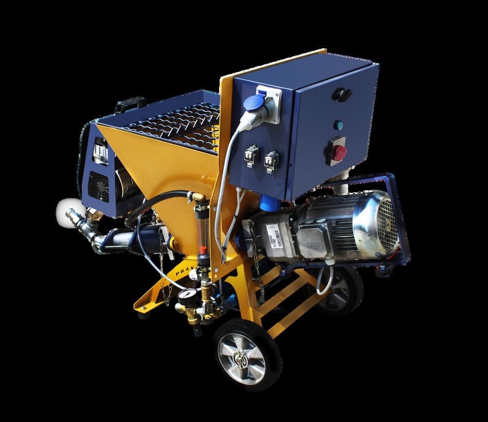 PRAXIS lanzadora mezcladora