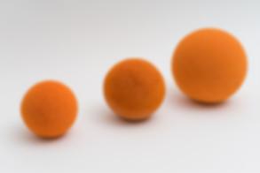 Bolas de esponja para limpieza de mangue