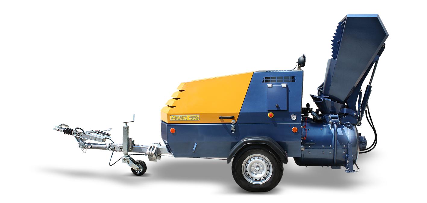 AERO 450 micro concrete pump