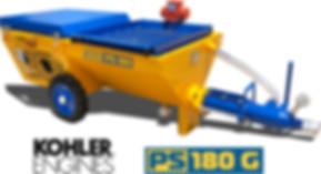PS 180 G proyectadora de revoque