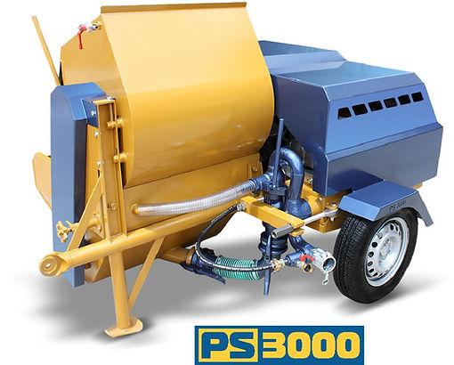 PS 3000 plastering machine