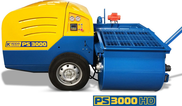 PS 3000 HD plaster pump
