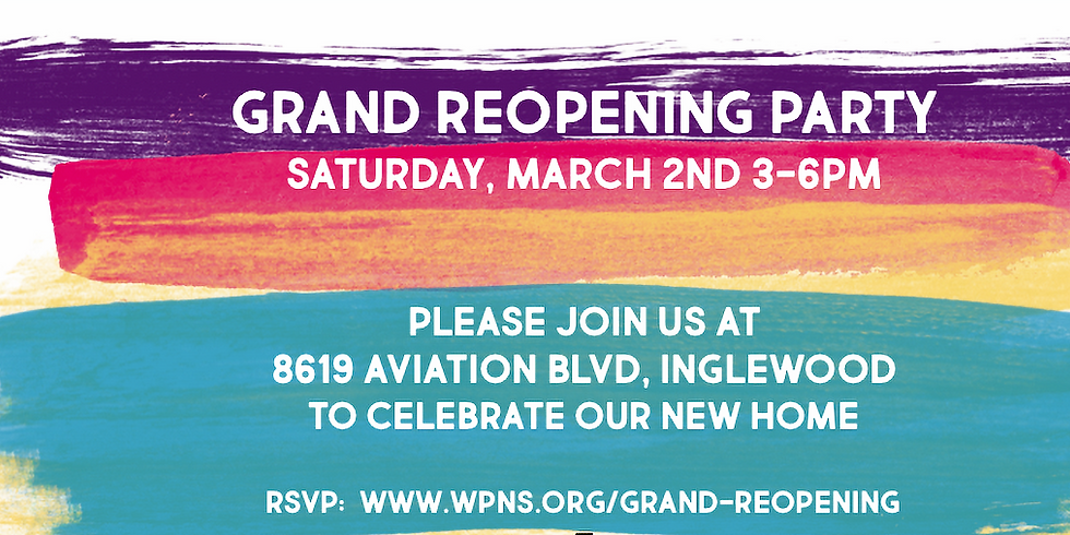 Grand Reopening Party