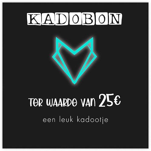 KADOBON 25€