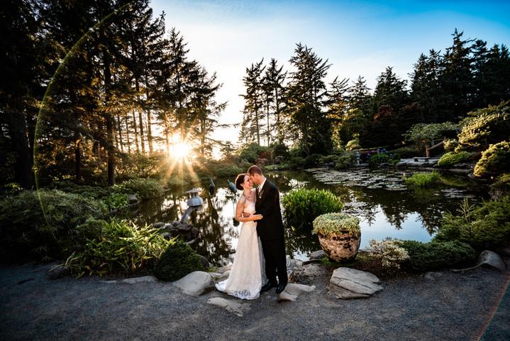 Shore Acres Coos Bay Wedding
