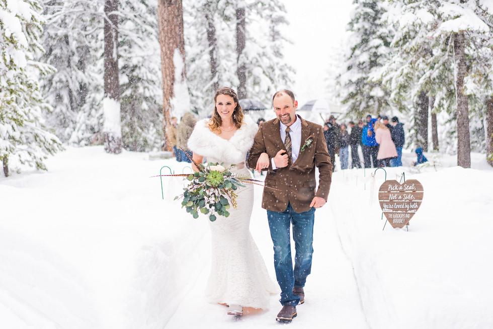 Skyliners Lodge Bend Or treasure valley weddings boise wedding photographer Blush Artistries Photography