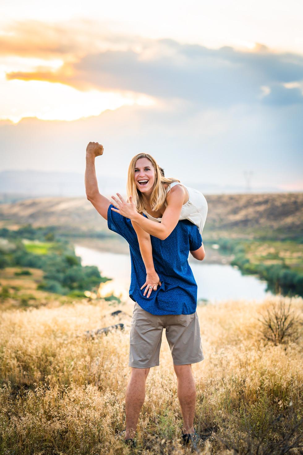 Idaho engagement