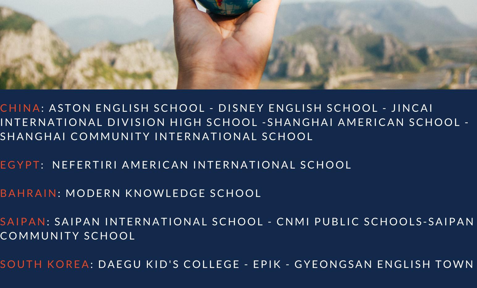 Teach Abroad Poster