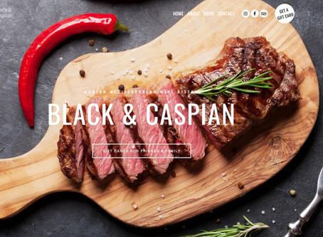 Black & Caspian