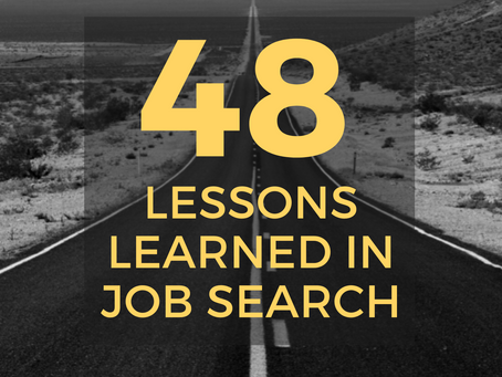 10 Job Search Lessons from James Warda's New Book