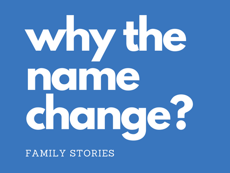 Why the name change to Family Stories?