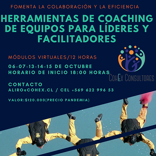 Herramientas de Coaching de Equipos para líderes y facilitadores