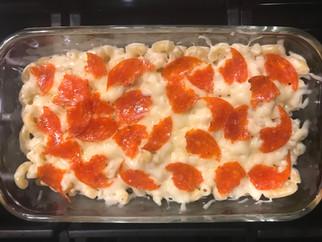 Pepperoni Pizza Pasta Dish Recipe