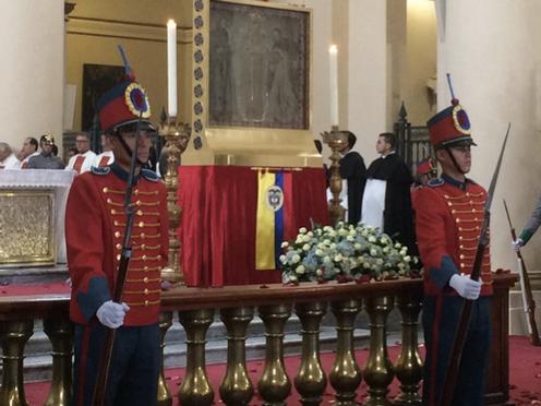 La virgen patrona de Colombia regresa a Bogotá después de 18 años
