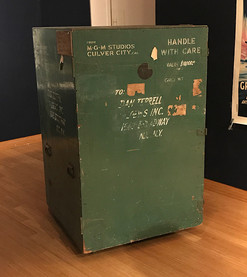 One of Robbie's shipping crates