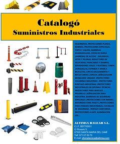 catalogo con precios suministros industriales