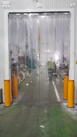 protecion puertas frigorificas