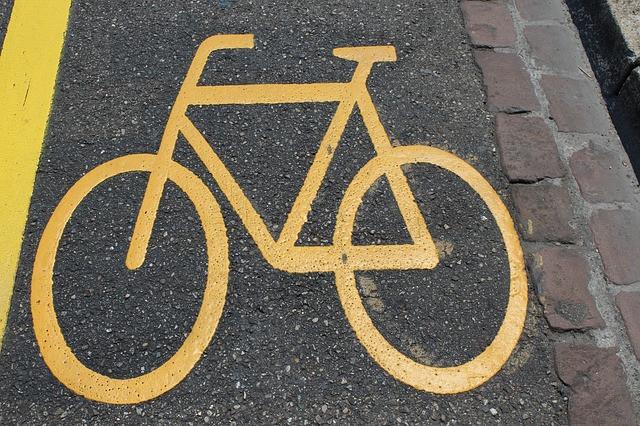 ścieżka rowerowa, rower