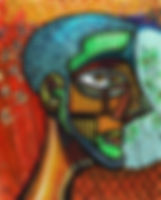 cubist cubism picasso self portrait artbeets atlanta artist painter