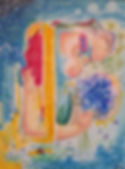 ophelia abstract art figurative