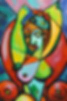 cubism cubist woman