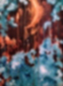 abstract mist painting art artbeets atlanta