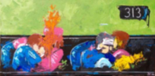 kennedy assassination jfk jaqueline jackieo president 313 zapruder film painting art abstract