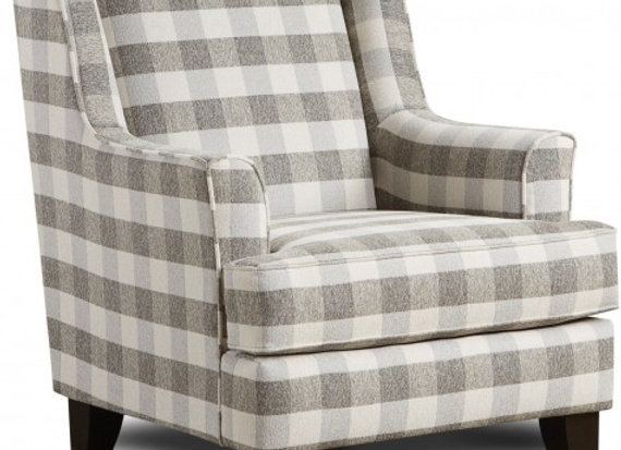 Basic Wool Accent Chair