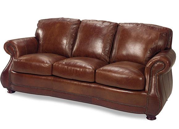 Brandy with Alligator Leather Sofa