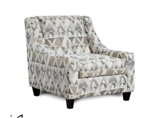 Alton Silver Accent Chair