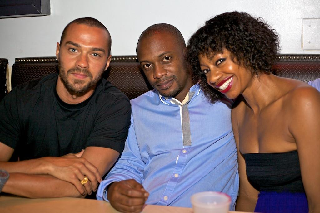 Jesse Williams, Hank Willis Thomas, Donnamarie Baptiste 2012