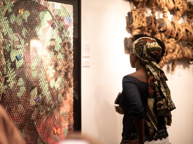 artists Morel Doucet, Christopher Carter